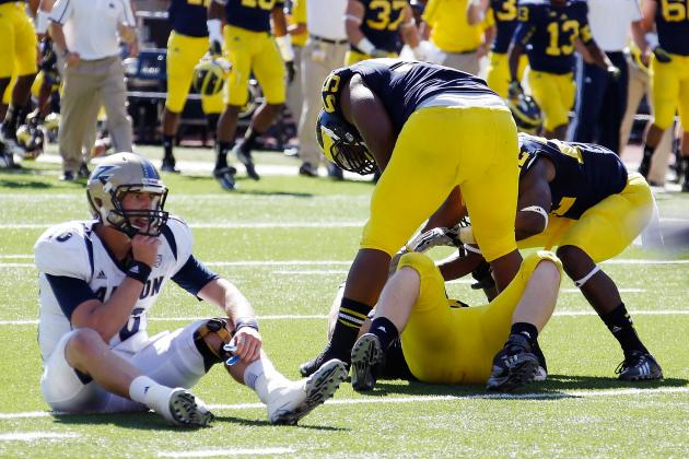 What Every College Team Can Learn from Michigan's Season-Saving Goal-Line Stand