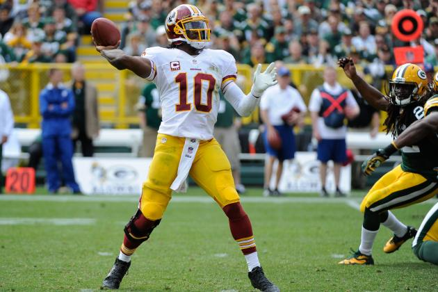 Breaking Down RG3's Form After Blowout Loss to Packers