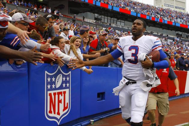 EJ Manuel in Tears After Buffalo Bills' Comeback Win