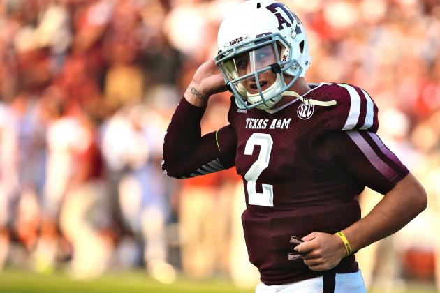 Johnny Manziel Reportedly Considered 'Undraftable' by Many NFL Teams