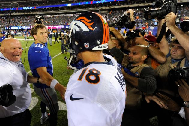Peyton on Manning Bowl: 'I Think Both of Us Are Glad That It's over With'