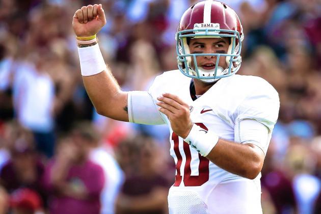 Alabama QB AJ McCarron Headlines Week 3's SEC Players of the Week