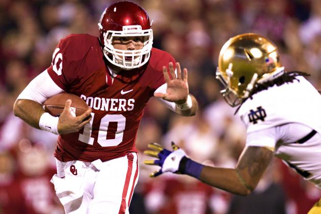 Oklahoma Names Blake Bell Starting QB for Showdown vs. Notre Dame