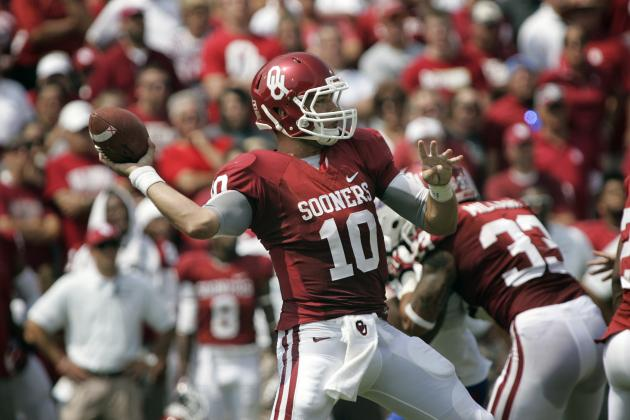 What Blake Bell Needs to Prove Against Notre Dame to Keep Starting QB Spot