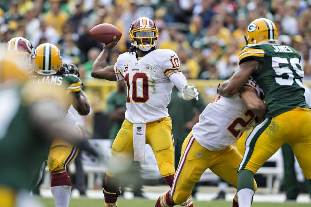 Washington Redskins Have a Major Problem in Robert Griffin III