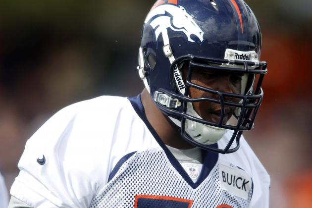 Report: Ryan Clady Has a Lisfranc Sprain