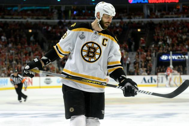 Bruins 'Experimenting' with Chara in Front of the Net on Power Play