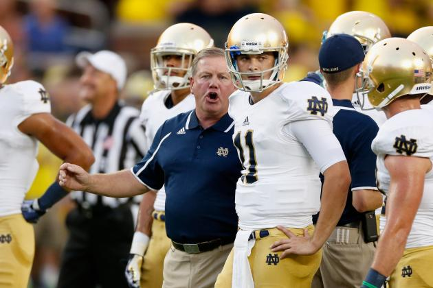 College Football Rankings 2013: Teams That Will Drop from Polls in Week 4