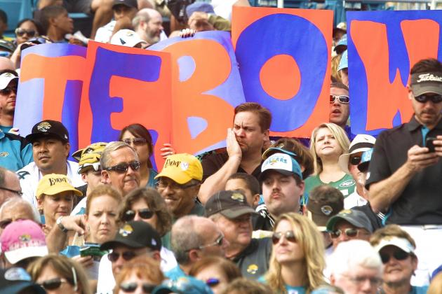 Tim Tebow Rally Will Be Held by Jacksonville Jaguars Fans