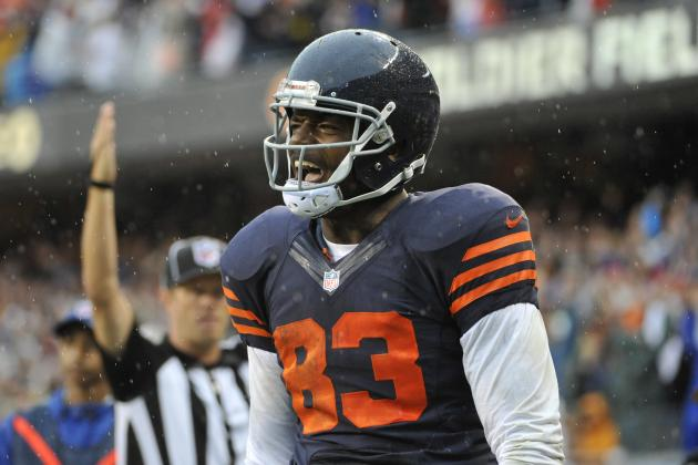 Martellus Bennett Has a Bruised Shoulder