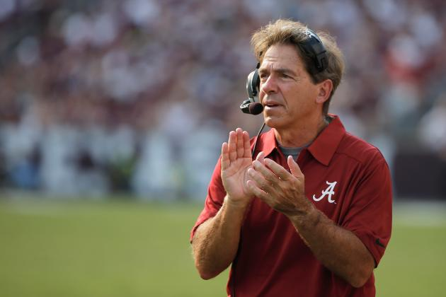 Alabama's Nick Saban Calls for Changes to New Targeting Rule