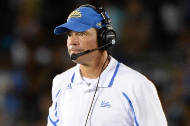 Jim Mora Says UCLA's Big Win Not a 'statement'