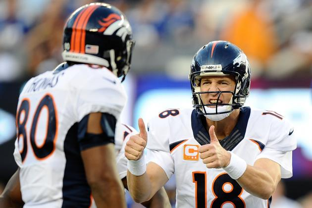 2013 Fantasy Football Quarterback Rankings: NFL Week 3