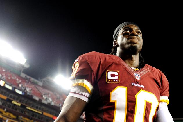 Robert Griffin III Won't Save Washington Redskins' Sinking Season
