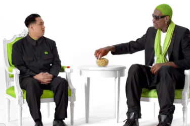 Video: Rodman Does Commercial with Fake Kim Jong-Un