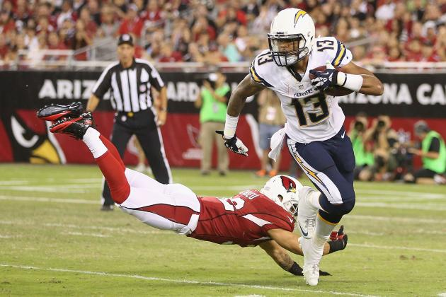 Keenan Allen's Updated 2013 Fantasy Outlook After Malcom Floyd's Injury