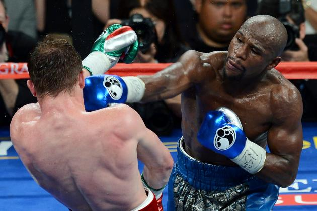 Mayweather vs. Canelo Fight: Grading Money's Dominant Performance
