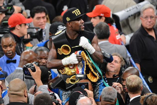Canelo vs. Mayweather 2013: Ranking Victory with Money's Greatest