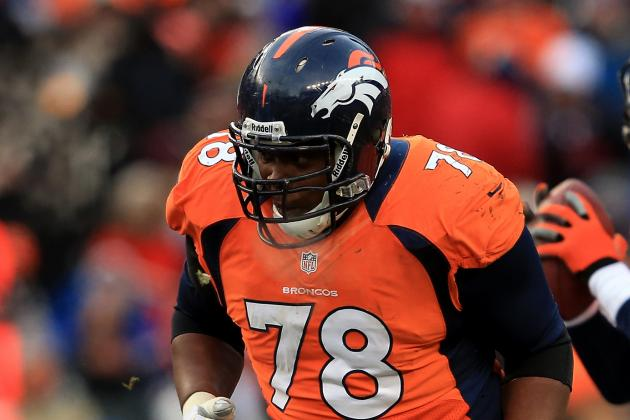 Ryan Clady Might Miss Rest of 2013 NFL Season with Foot Injury