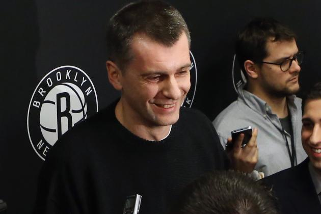 Mikhail Prokhorov Lets Bruce Ratner off on Nets Losses