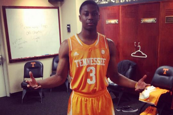 Photo: Tennessee's Basketball Uniforms May Have a New Look This Year