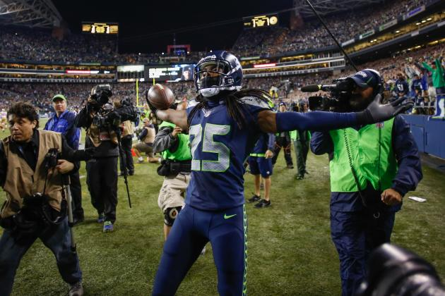 Richard Sherman's Post-Game Mishap with Jim Harbaugh Is Overblown