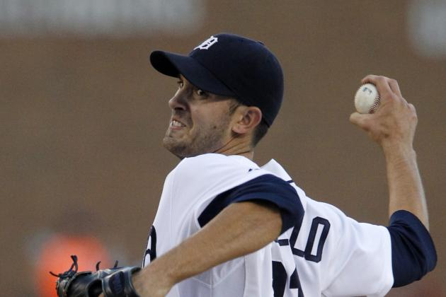 Tigers' Porcello K's 10 for his 13th win