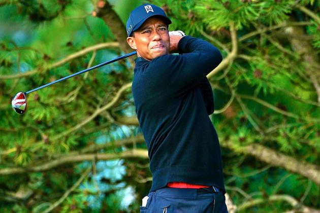 BMW Championship 2013: FedEx Cup Still in Range for Uninspiring Tiger Woods