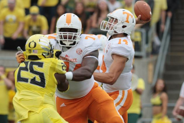 Tennessee Football: Justin Worley on Short Leash; Should He Start vs. Florida?