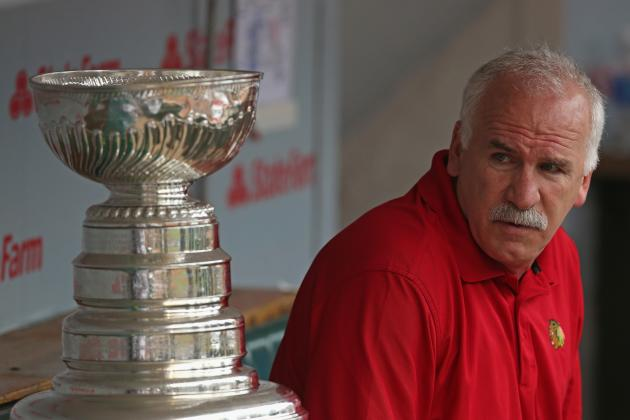 Joel Quenneville, Eddie Olczyk to Receive Special Honor on Wednesday