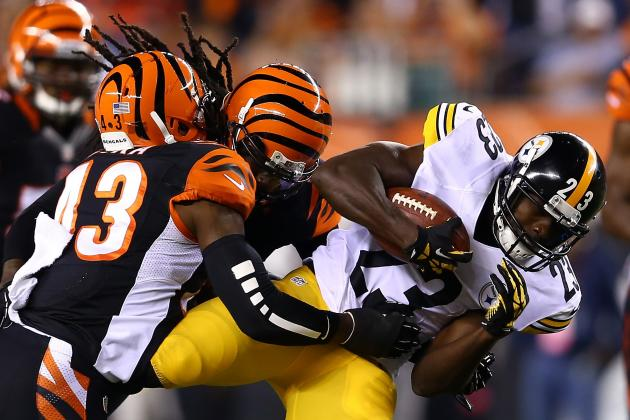 Felix Jones vs. Isaac Redman: Fantasy Outlook for Steelers RBs After Week 2