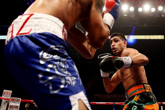 Floyd Mayweather's Ideal Next Opponent Listed as Amir Khan