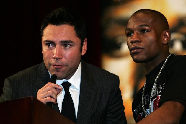 Floyd Mayweather Apologizes for Unauthorized Oscar De La Hoya Meme on Instagram