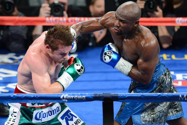 Mayweather vs. Canelo: Money's Experience Leads to Late-Round Domination