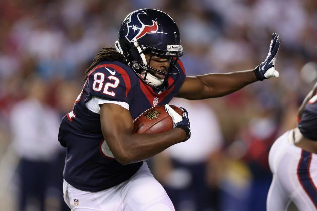 Keshawn Martin's Full Fantasy Scouting Report After Andre Johnson's Injury