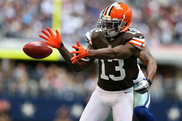 Josh Gordon's Updated 2013 Fantasy Outlook Heading into Week 3