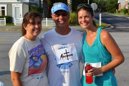 Chance Encounter with Roy Williams Helps Woman with Brain Tumor