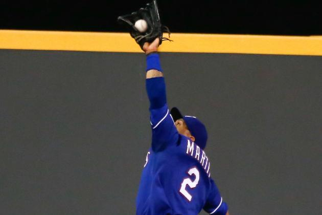 Rangers Outfielder Leonys Martin Dazzles with His Arm -- Again