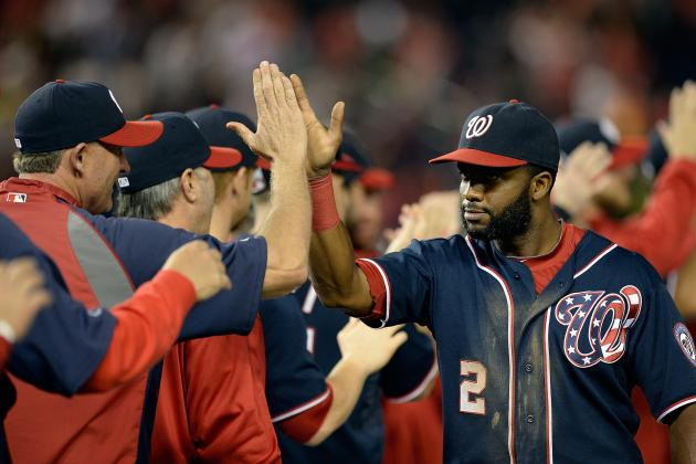 Nats Hope to Delay Braves' Celebration