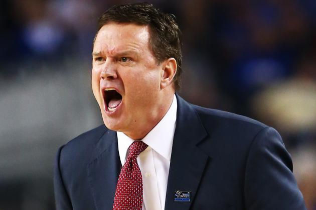 Basketball Team Begins Bill Self Boot Camp