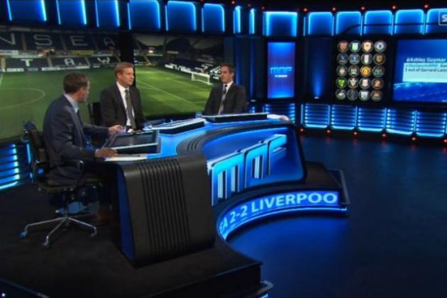 Sky's Carragher-Neville Scrap Was Tiresome, Predictable and Illuminated No One