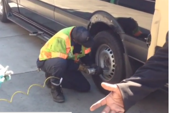 Dwyane Wade Got a Flat Tire on the Way to LeBron James Wedding