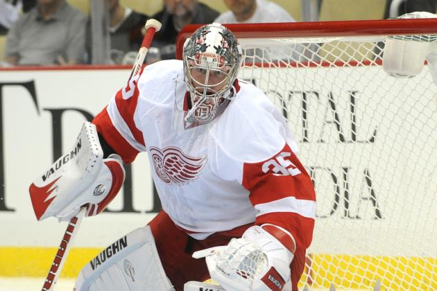 Detroit Red Wings Goalie Jimmy Howard Unfazed by Shallower Nets