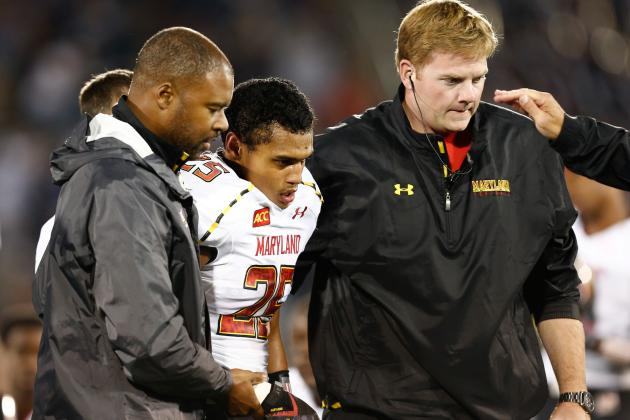 Terps CB McDougle (shoulder) out for Season