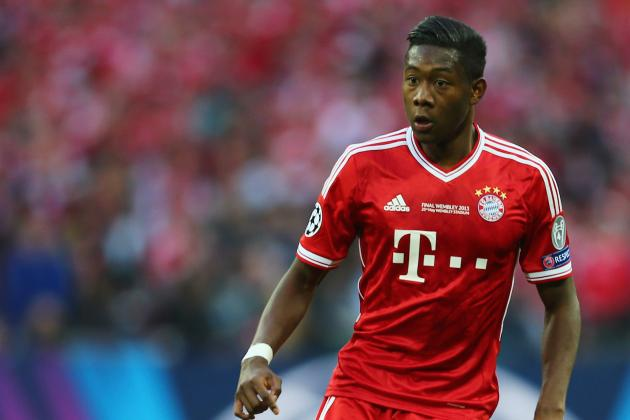 GIF: David Alaba Scores Superb Free-Kick for Bayern Munich in Champions League