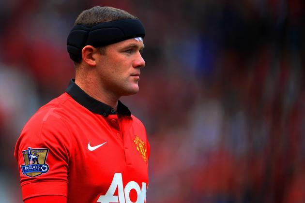 Wayne Rooney Scores for Manchester United Against Bayer Leverkusen