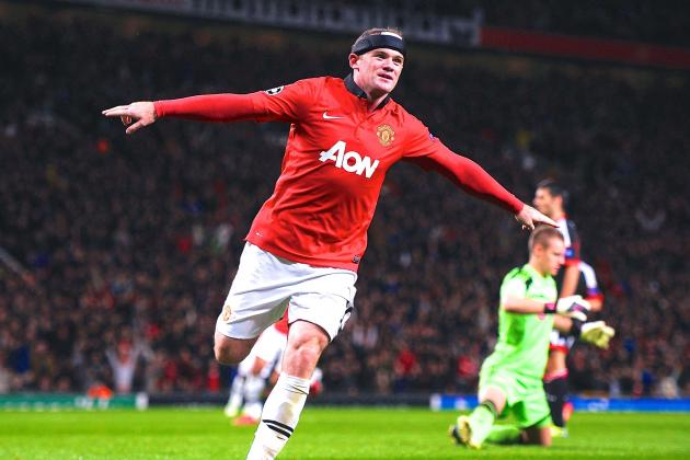 Wayne Rooney Nets 200th Career Goal with Manchester United