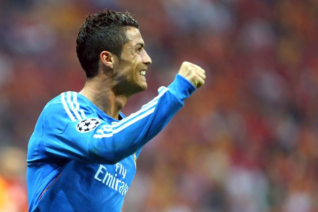 GIFs: Cristiano Ronaldo Hat-Trick Helps Real Madrid to 6-1 Galatasaray UCL Win