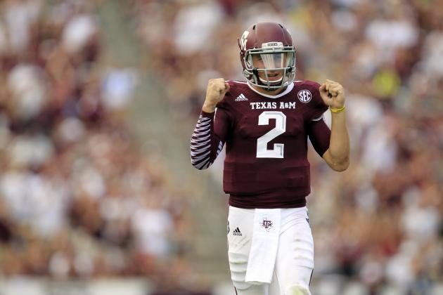 Johnny Manziel's Pro Projections Should Scare NFL Scouts