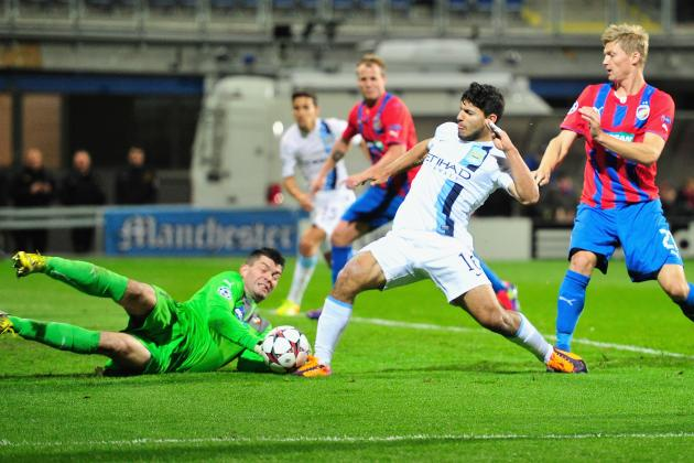 Aguero the Star as Manchester City Make Impressive Start to European Campaign